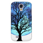 Tree and Moon Samsung Galaxy S4 Cases