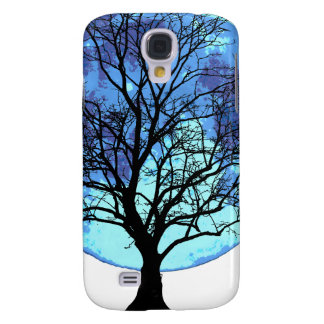Tree and Moon Samsung S4 Case