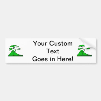tree and mountain green.png car bumper sticker