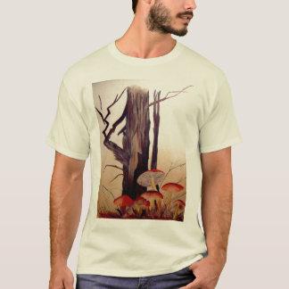 Tree and Mushrooms T-Shirt