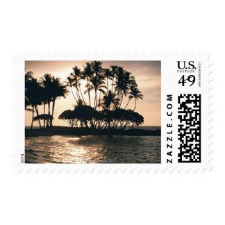 Tree and Sea Postage