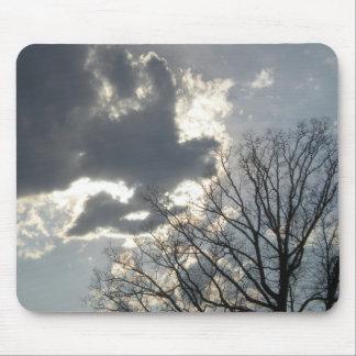 Tree and Sky Mousepad