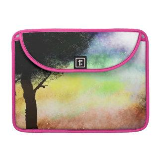 Tree and Sky/Universe MacBook Bag Sleeve For MacBook Pro