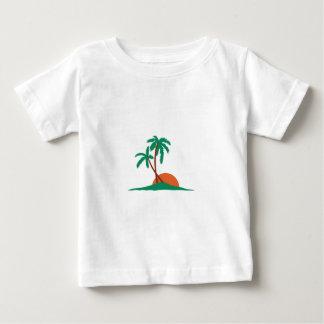 Tree And Sunset Tee Shirt