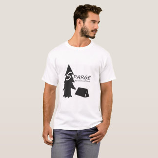 Tree and tent Sparge. T-Shirt