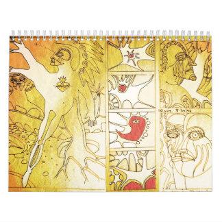 tree angel collection calendar