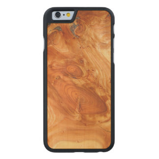 Tree Annual Rings Carved® Maple iPhone 6 Case