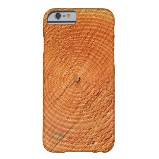Tree annual rings close up iPhone 6 case