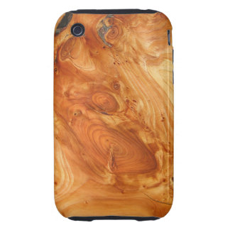 Tree Annual Rings iPhone 3 Tough Cover