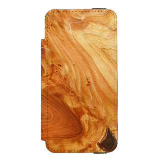 Tree Annual Rings iPhone SE/5/5s Wallet Case
