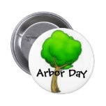 tree, Arbor Day Buttons