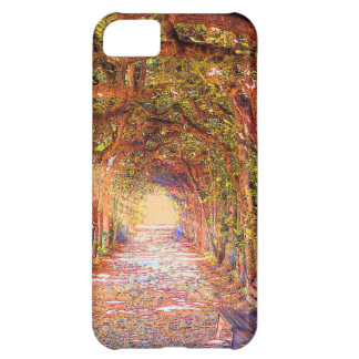 tree arch tunnel alley iphone case cover