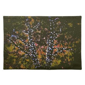 Tree Art Handmade Place Mat