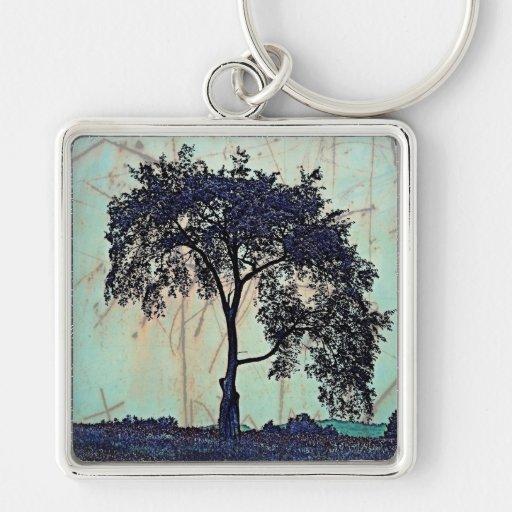 Tree Art Keychain