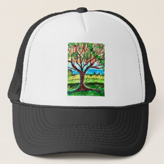 Tree Art Trucker Hat