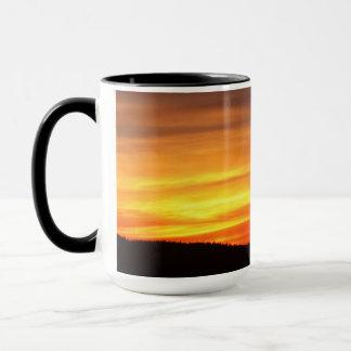 Tree At Sunset Mug