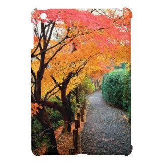 Tree Autumn Colors Japan Case For The iPad Mini
