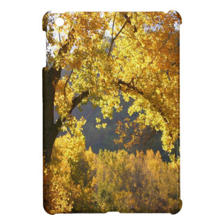 Tree Autumn Yellow iPad Mini Cover