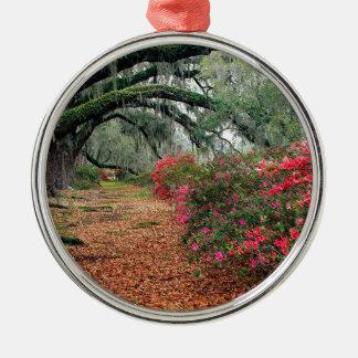 Tree Azaleas And Live Oaks Plantation Christmas Tree Ornament