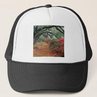 Tree Azaleas And Live Oaks Plantation Trucker Hat