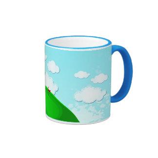 Tree background, mug