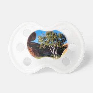 Tree Balancing Boulder Australia Baby Pacifier