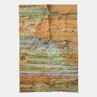Tree Bark Abstract Kitchen Towel