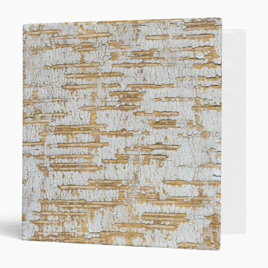 Tree Bark Abstract Natural Pattern 3 Ring Binder