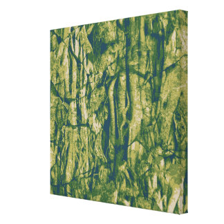 Tree bark camouflage pattern canvas print