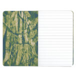 Tree bark camouflage pattern journal