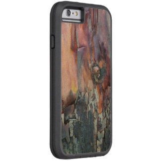Tree bark case for a rugged iPhone 6