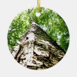 Tree Bark Christmas Ornaments