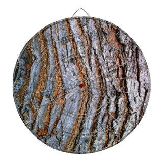 TREE BARK DARTBOARD
