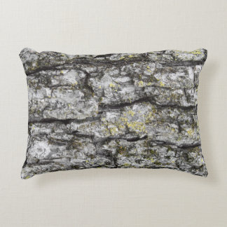 Tree Bark Decorative Pillow