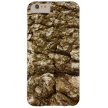 Tree Bark Design Barely There iPhone 6 Plus Case