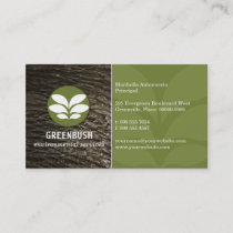 Tree Bark Environmental Business Card