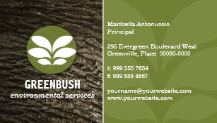 Environmental business cards templates zazzle tree bark environmental business card colourmoves Images