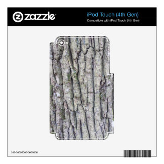 Tree Bark Gift Decals For iPod Touch 4G
