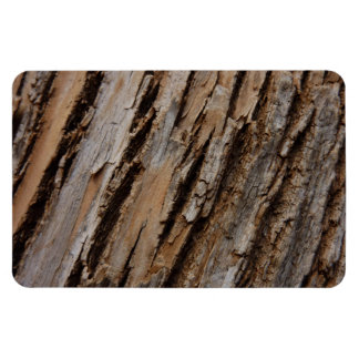 Tree Bark I Natural Abstract Textured Design Magnet