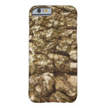 Tree Bark II Natural Abstract Textured Design Barely There iPhone 6 Case