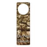 Tree Bark II Natural Abstract Textured Design Door Hanger