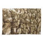 Tree Bark II Natural Abstract Textured Design Towel