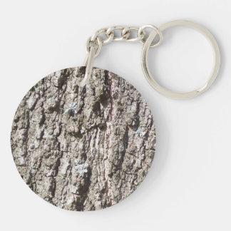 Tree Bark Keychain