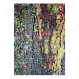 Tree Bark Large Business Card