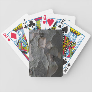 Tree Bark macro photography Bicycle Playing Cards