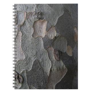 Tree Bark macro photography Notebook