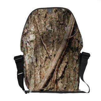 Tree Bark ~ Messenger Bag