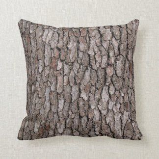 Tree Bark on a Pillow