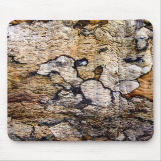Tree bark pattern mousepad