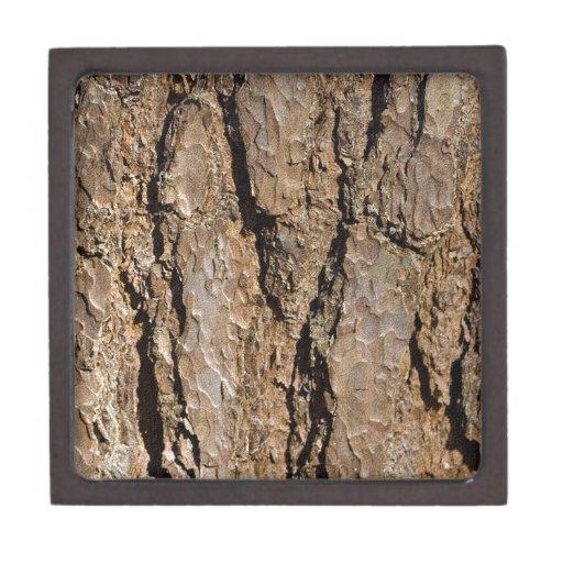 TREE BARK PREMIUM JEWELRY BOX